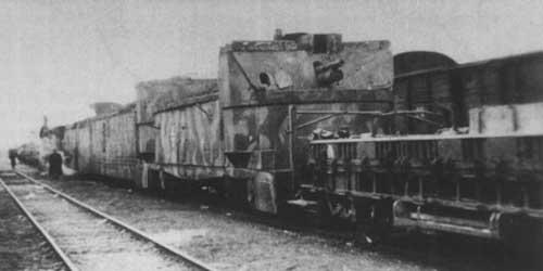 Німецький бронепоїзд Panzerzug 11 на коліях Тернопільського депо